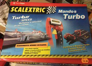 Mandos Scalextric turbo