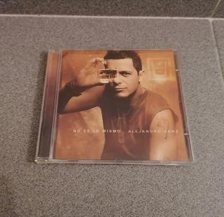"""CD ALEJANDRO SANZ """"NO ES LO MISMO""""."""