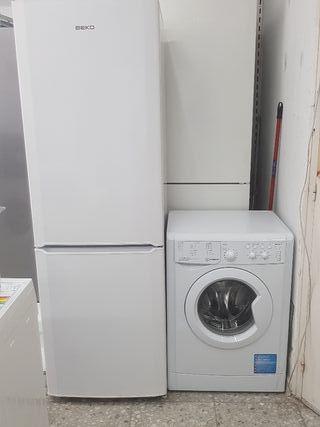pack espacial oferta nevera + lavadora