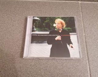 """CD MARÍA SCHNEIDER """"ALLEGRESSE""""."""