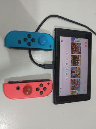 Nintendo Switch+Juegos+Funda de transporte