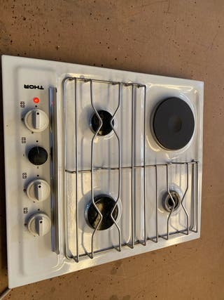 Hornilla de butano y eléctrica