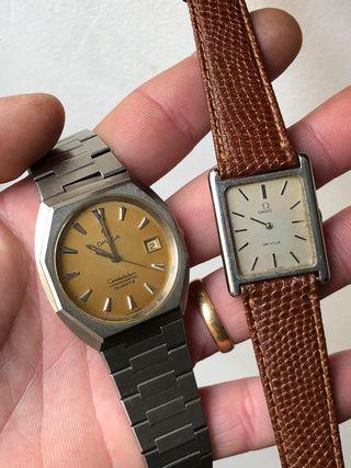Reloj omega original lote 2 relojes
