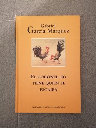 """LIBRO """"EL CORONEL NO TIENE QUIÉN LE ESCRIBA""""."""