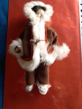 muñeca articulada de porcelana vintage