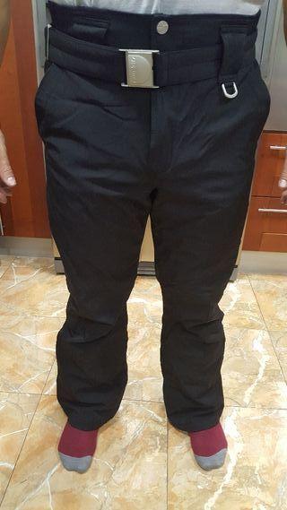 pantalon nieve KILLY negro talla 42/44 con RECCO