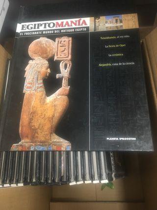 17 libros sobre Egipto