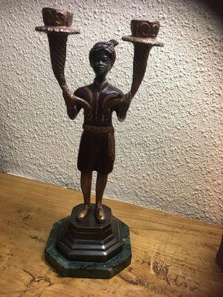 Estatua para adorno o portavelas de BECCARA