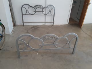 cama de hierro antigua
