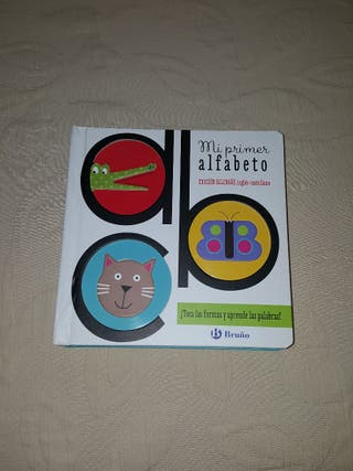 libro alfabeto infantil inglés castellano