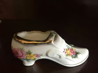 Zapato Antiguo Porcelana