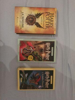 pack de libros Harry Potter tapa dura.