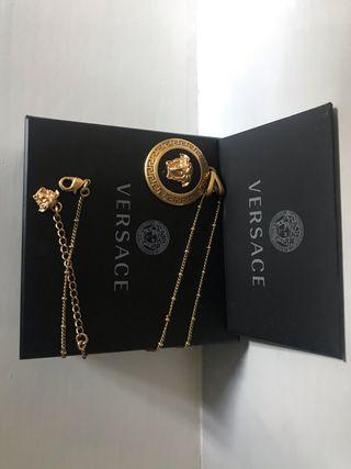 Colgante medallón con cadena VERSACE