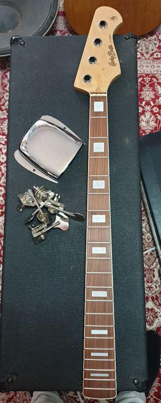 Mastil,Afinadores,Cubre puente jazz bass
