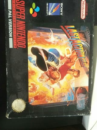 Last Action Hero, SNES juego, en caja