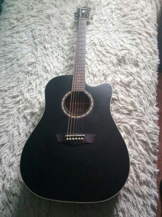Guitarra Washburn electroacustica