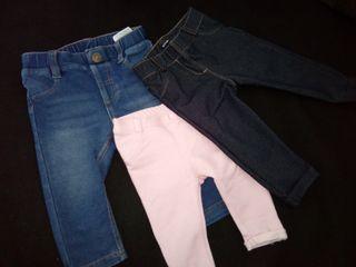 Pantalones y mono