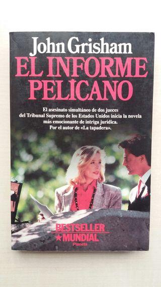 Libro El informe Pelícano. John Grisham.