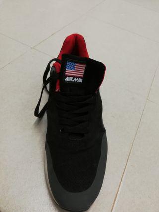 zapatillas nike air rojas