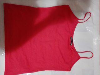 camiseta talla S coral mujer