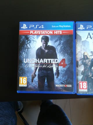 Uncharted 4 y Assasins Creed