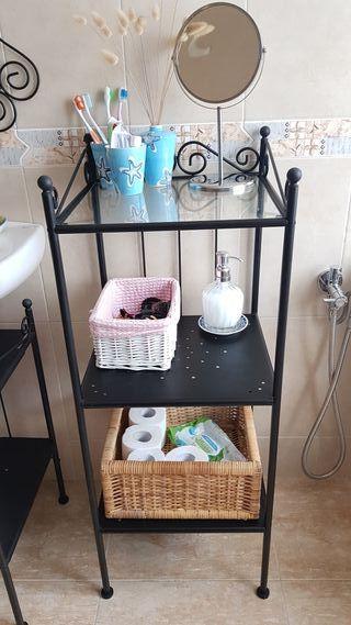 muebles para el baño y aplique