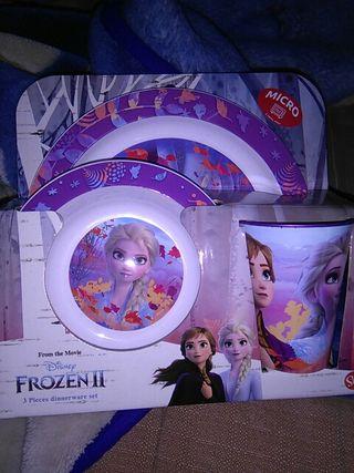 juego de platos frozen 2