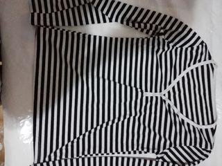 camiseta talla L/XL rayas mujer