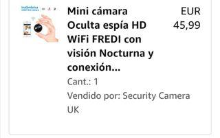 Dos Mini Cámaras HD