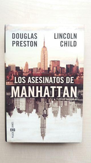 Libro Los asesinatos de Manhattan. Preston y Child