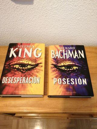 """LIBROS """"DESESPERACIÓN"""" Y """"POSESIÓN"""" (STEPHEN KING)"""