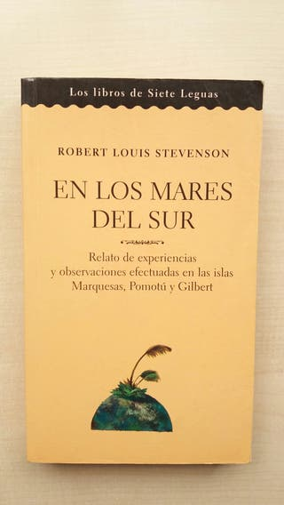 Libro En los mares del Sur. Stevenson.