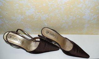 Zapatos de tacón, talla 37