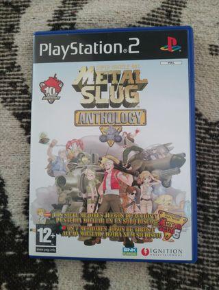 Metal slug anthology PS2 Nuevo!!