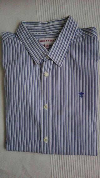 2 Camisas chico neck & neck.
