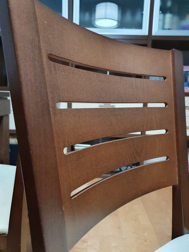lote de 6 sillas