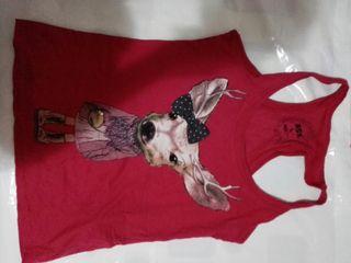 camiseta talla L bershka NUEVA rosa mujer