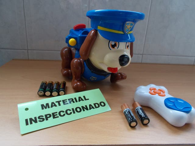 Juguete interactivo TOM PERRO POLICIA.Funcionando!