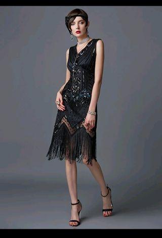 vestido años 20