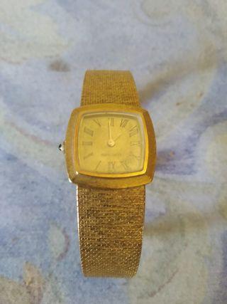 reloj de oro de mujer de Longines
