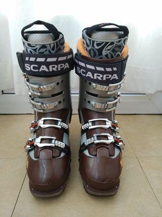 Botas esquí travesía Scarpa Mobe
