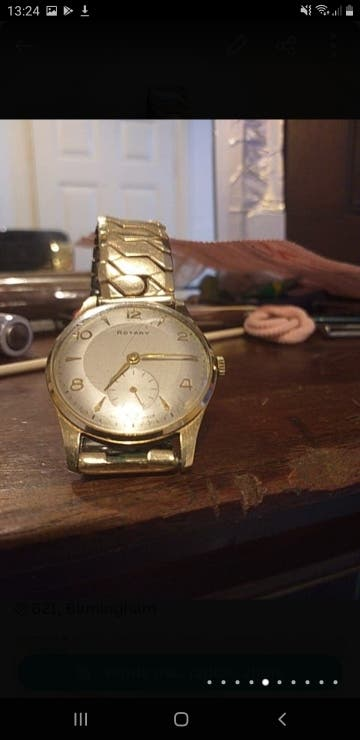 Rotary Watch Vintage