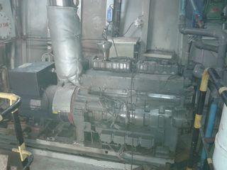 Motores diesel con generador