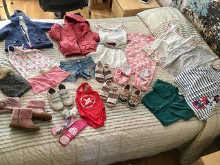 Lote ropa+calzado niña 2-3 años + regalo