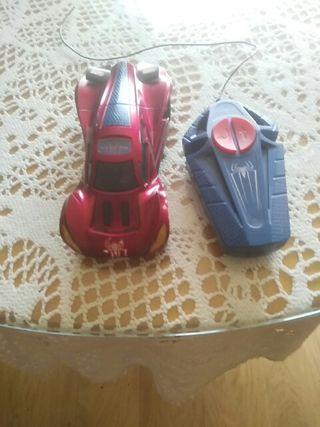 coche teledirigido Spaiderman