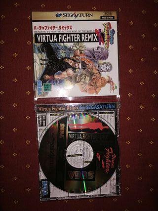 Virtua fighter Remix, sega Saturn Jap.
