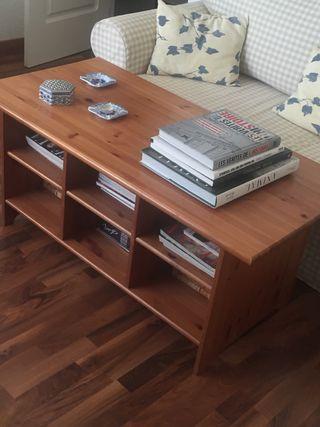 Mueble de TV y mesa centro