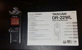 Tascam DR-22WL Grabador de audio digital portátil