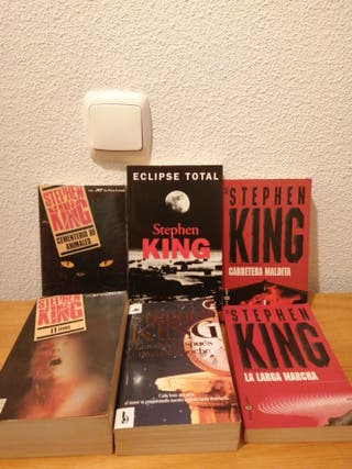 LOTE LIBROS STEPHEN KING