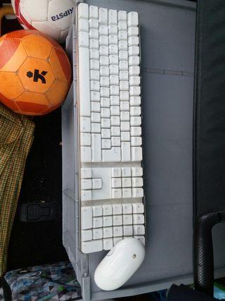 teclado y ratón Apple